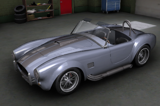 This is an artist rendition from the Factory Five Website with the color scheme under consideration.