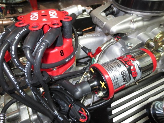 Photo courtesy of the Engine Factory of the Small Block Ford Fuel Injected Engine.